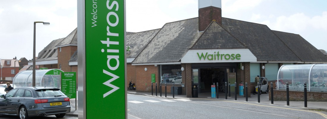 D74AJ0 Waitrose store, Littlehampton, West Sussex